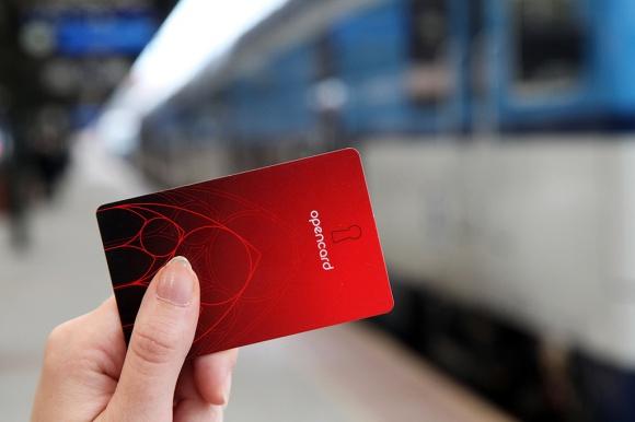 po prave vlakem s opencard